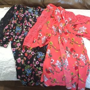 Lot of two kimonos. Never worn.